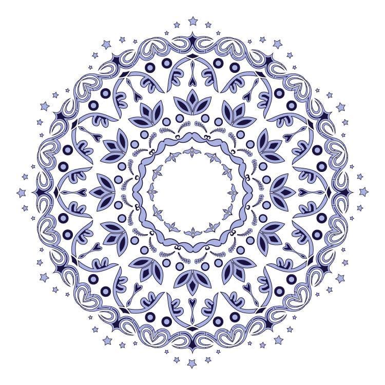 Mandala Project - image 1 - student project