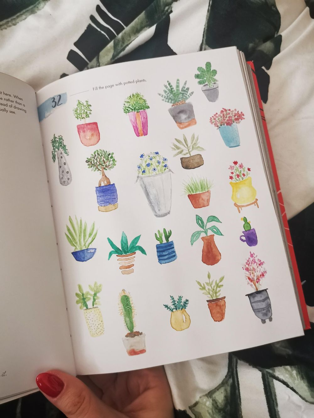 A page of potted plants - image 1 - student project