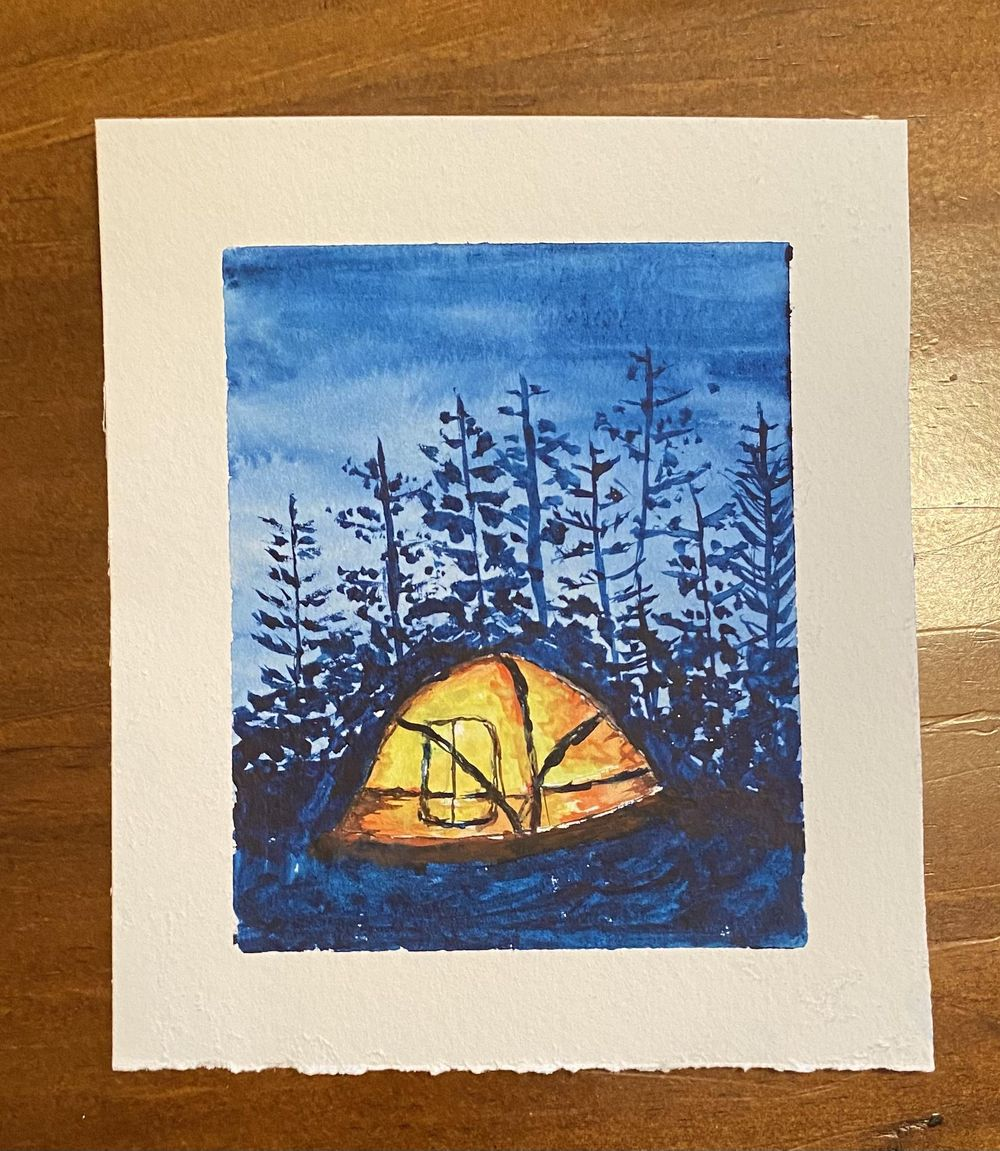Camping under the stars - image 1 - student project