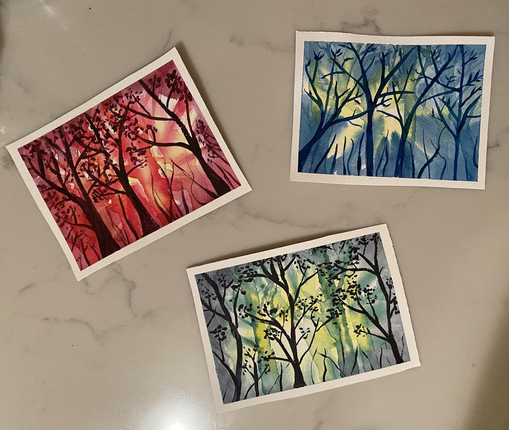 Forest scenes - image 2 - student project