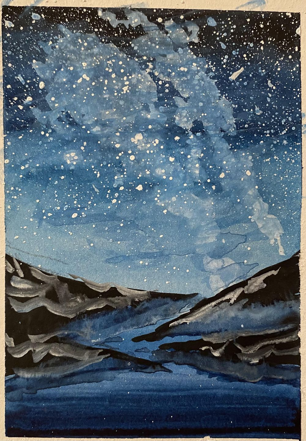 Dreamy Night Sky - image 1 - student project