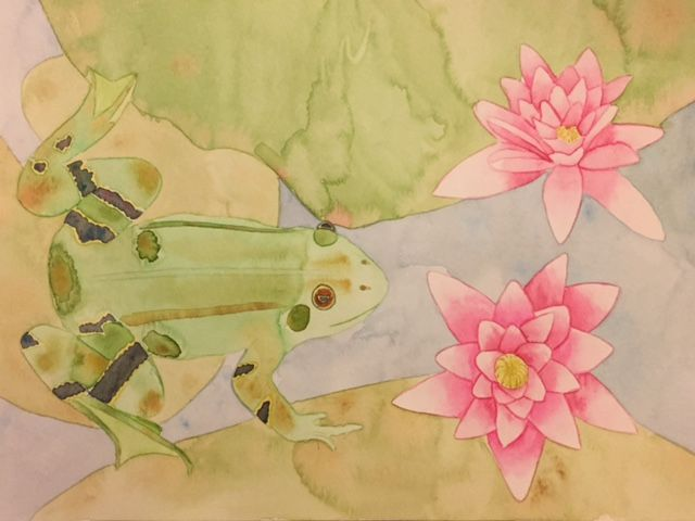Lily Frog - image 4 - student project
