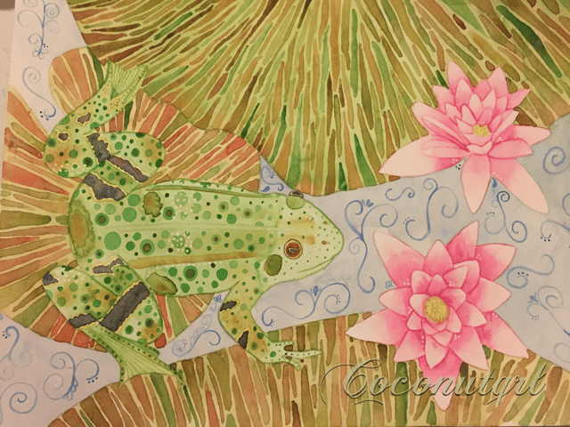 Lily Frog - image 1 - student project