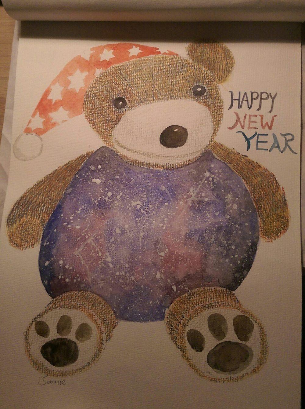 galaxy bear - image 1 - student project