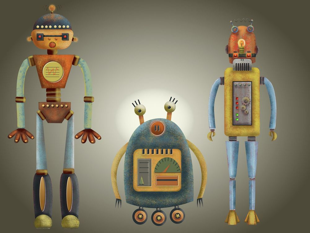 Vector robots - image 1 - student project