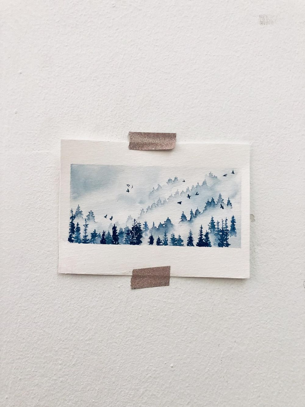 Nadia's misty pines - image 1 - student project