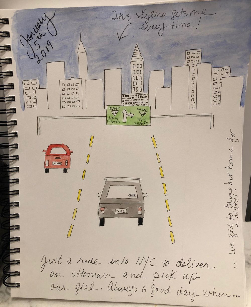 Driving to NYC - my Hero project - image 1 - student project