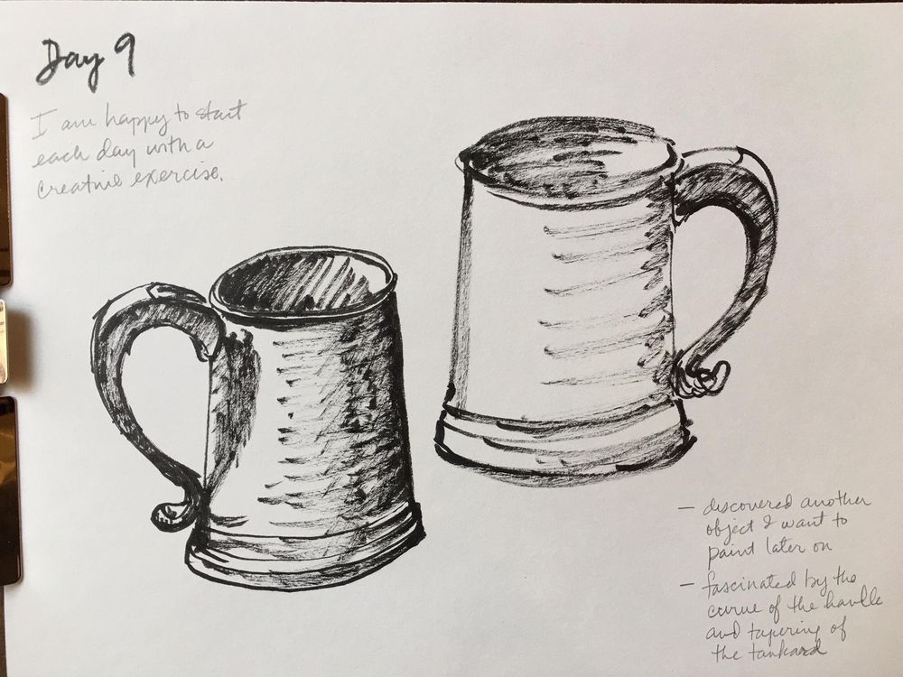 14 Days of Drawing - image 9 - student project