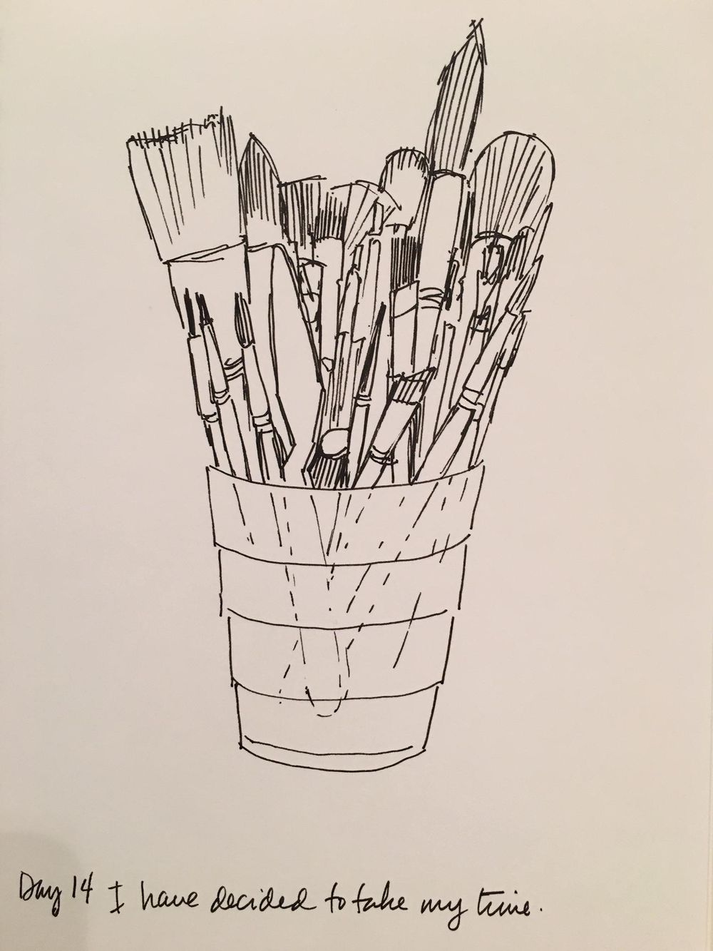 14 Days of Drawing - image 14 - student project