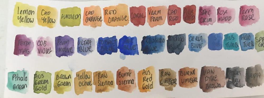 Art spectrum water-colours Australia - image 1 - student project