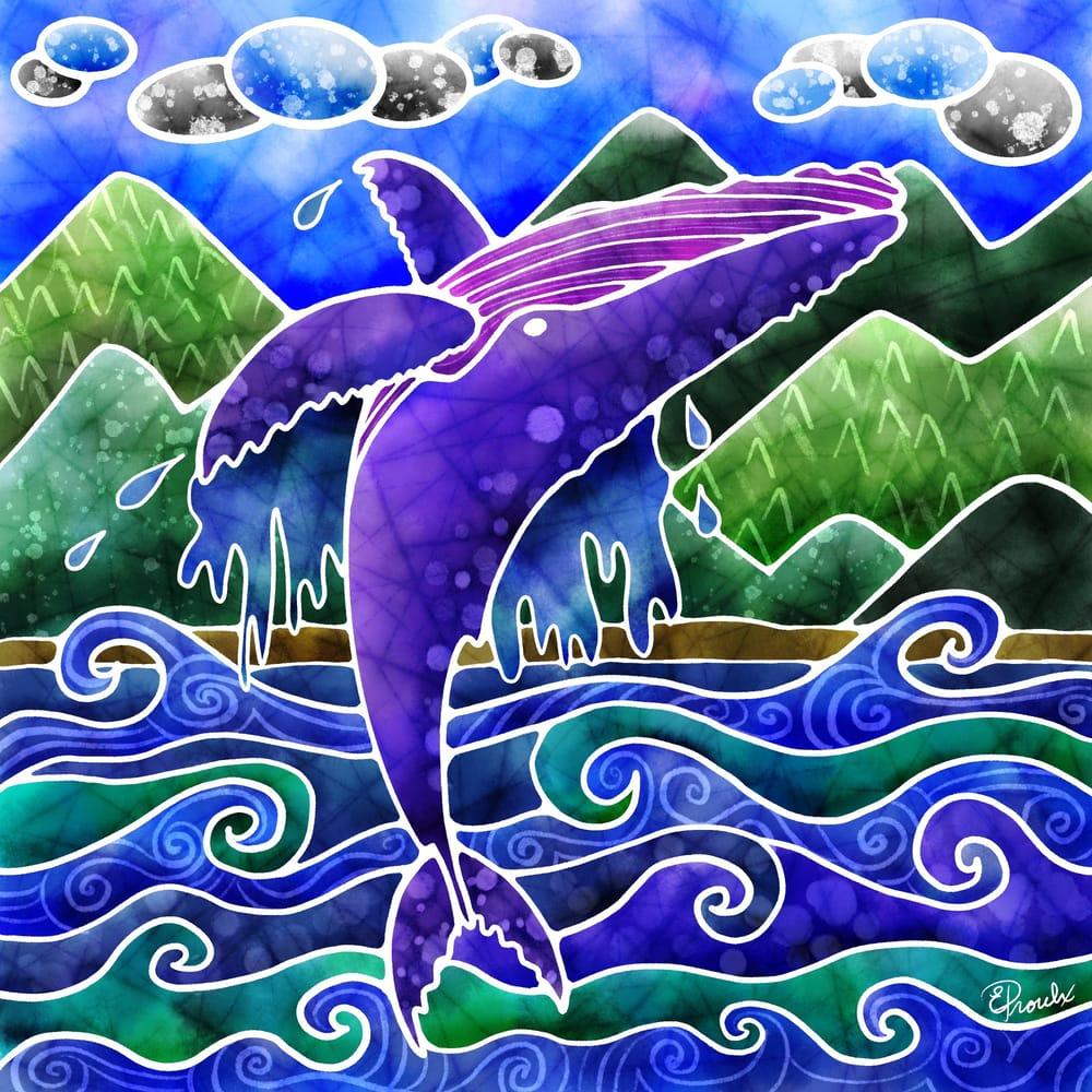 Jumping humpback - image 1 - student project