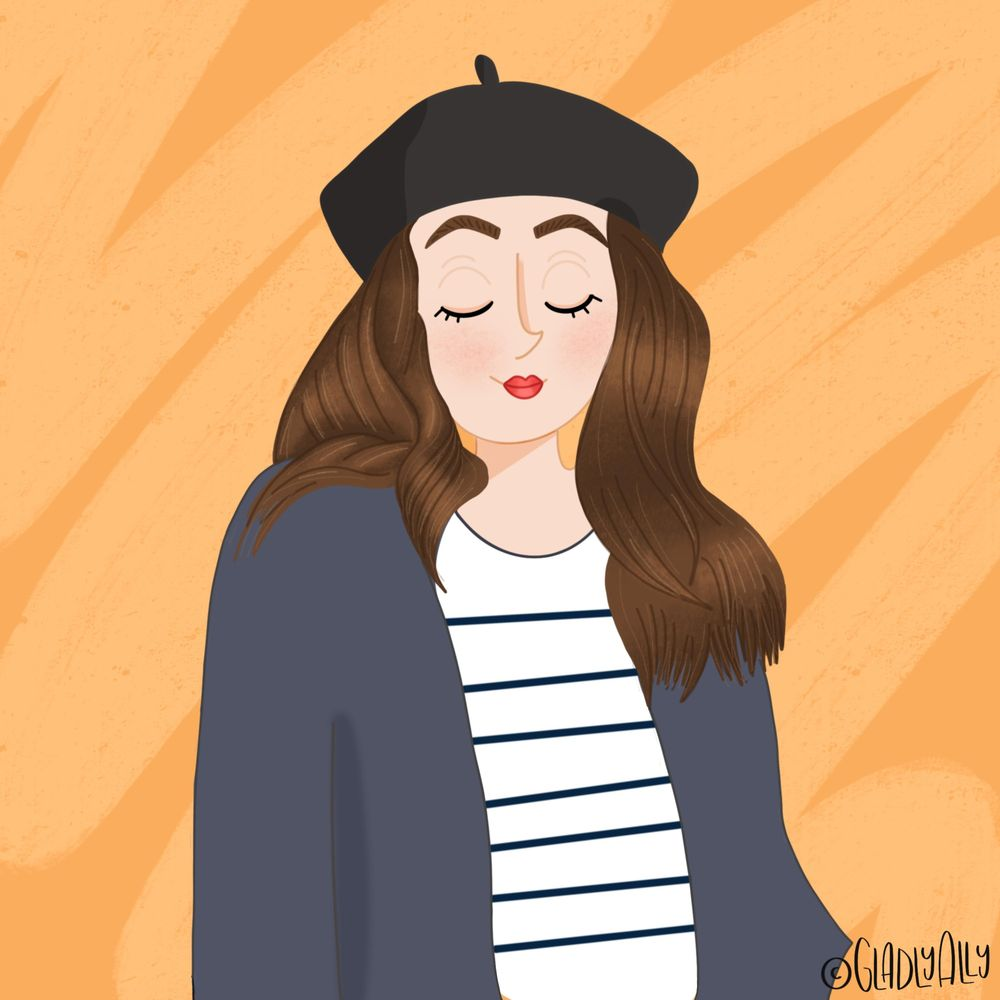 My first portrait - parisienne look - image 1 - student project