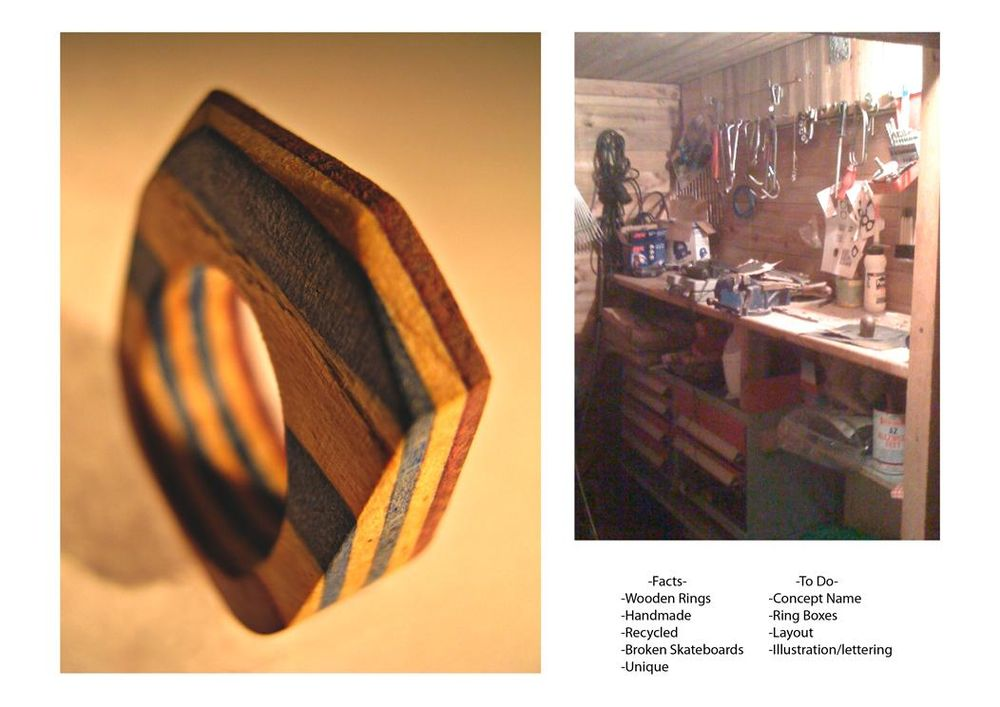 ☞ Popless ☜ Recycled Skateboard Wooden Rings - image 13 - student project
