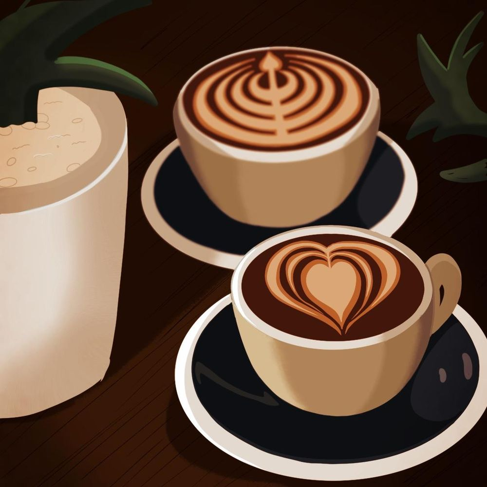 Coffee with You - image 2 - student project