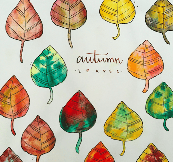 Autumn Leaves - image 2 - student project
