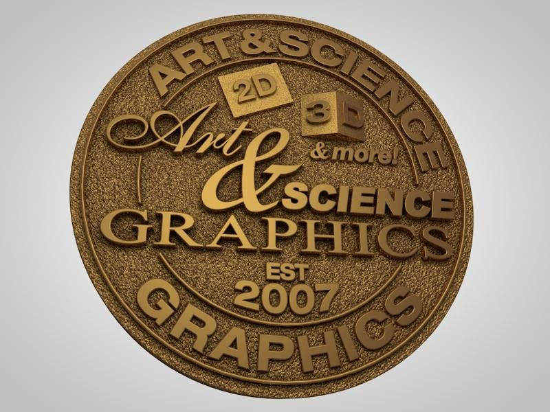 The Evolution of the Art & Science Graphics Logo - image 4 - student project