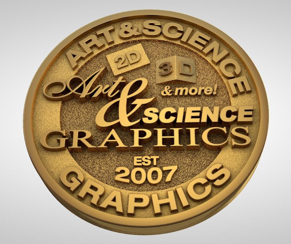 The Evolution of the Art & Science Graphics Logo - image 5 - student project