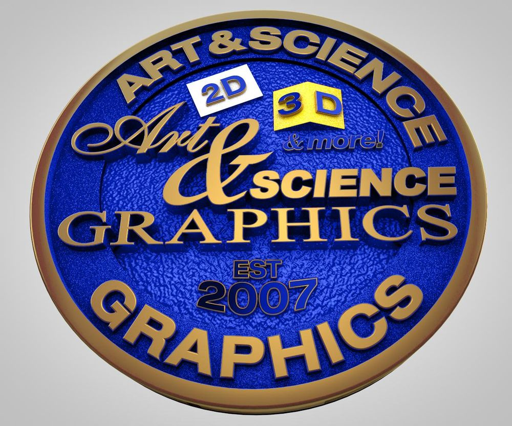 The Evolution of the Art & Science Graphics Logo - image 6 - student project