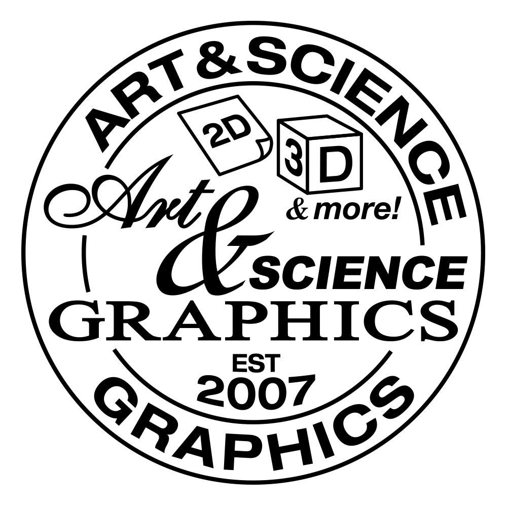The Evolution of the Art & Science Graphics Logo - image 1 - student project