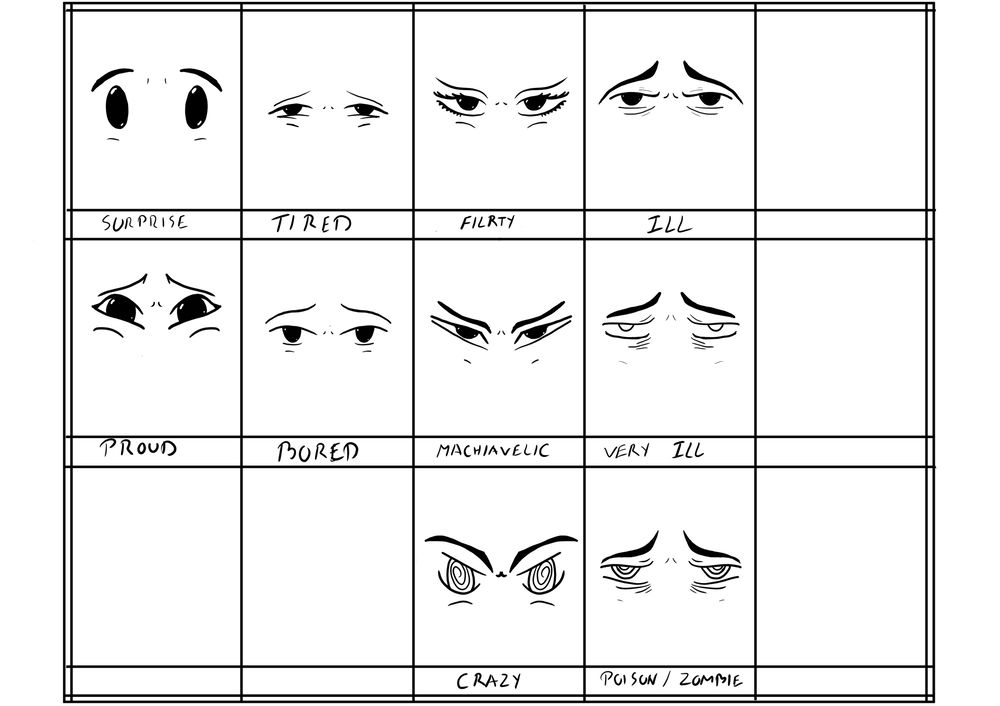 Eye expression - image 2 - student project