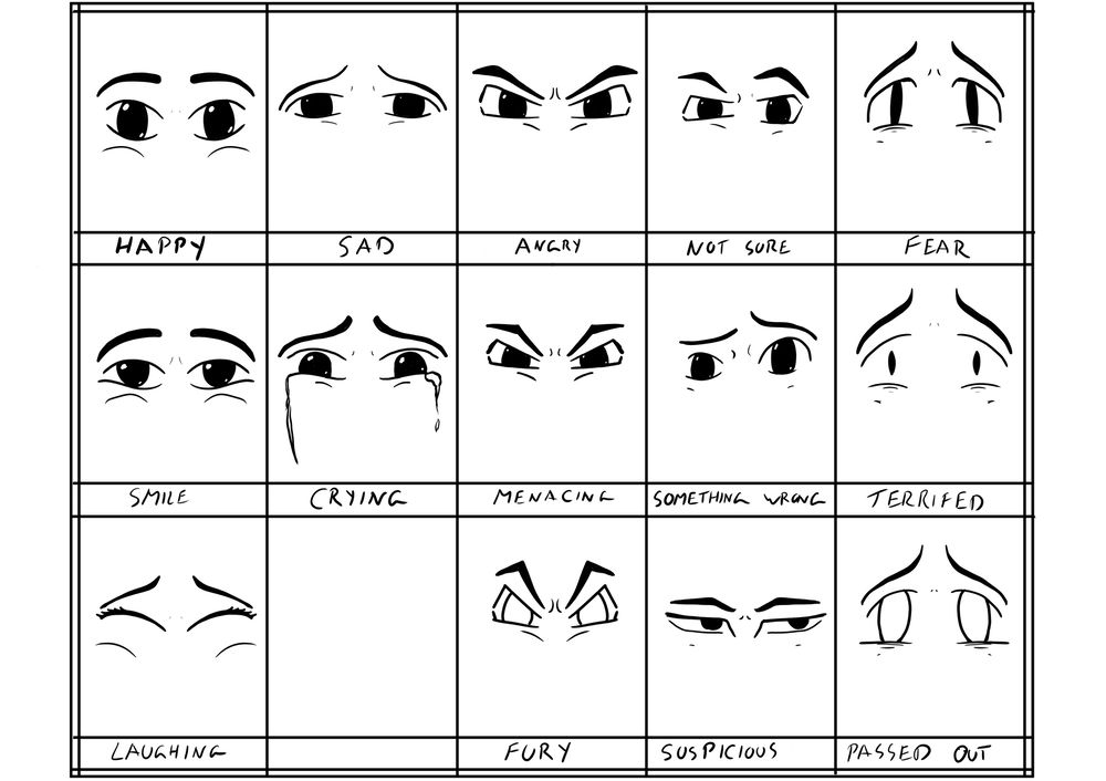 Eye expression - image 1 - student project