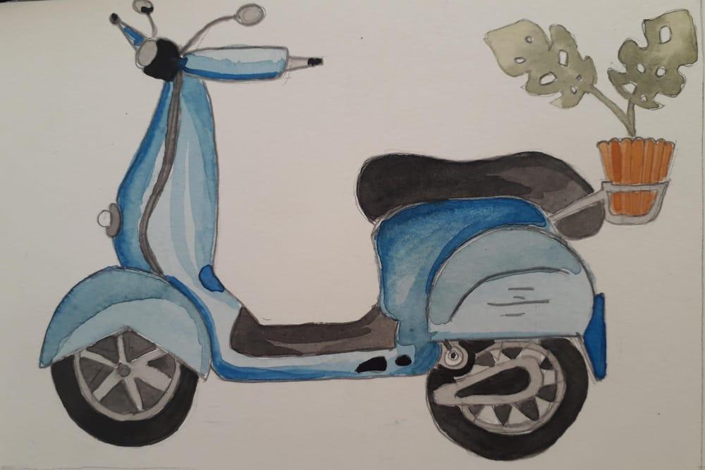 scooter - meu projeto - image 1 - student project