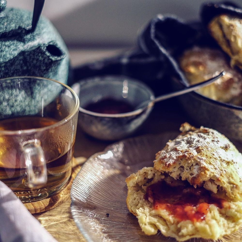 tea and scones time - image 1 - student project