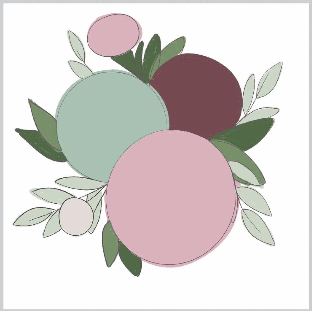 Floral Illustration - image 1 - student project