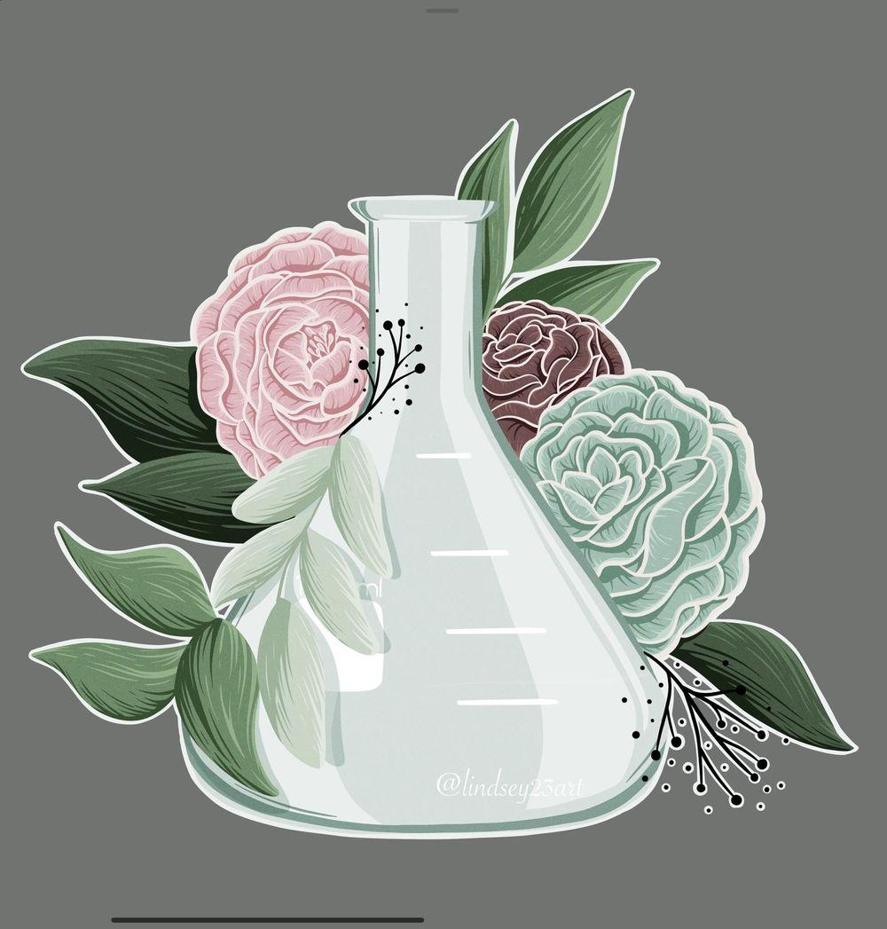 Floral Illustration - image 4 - student project