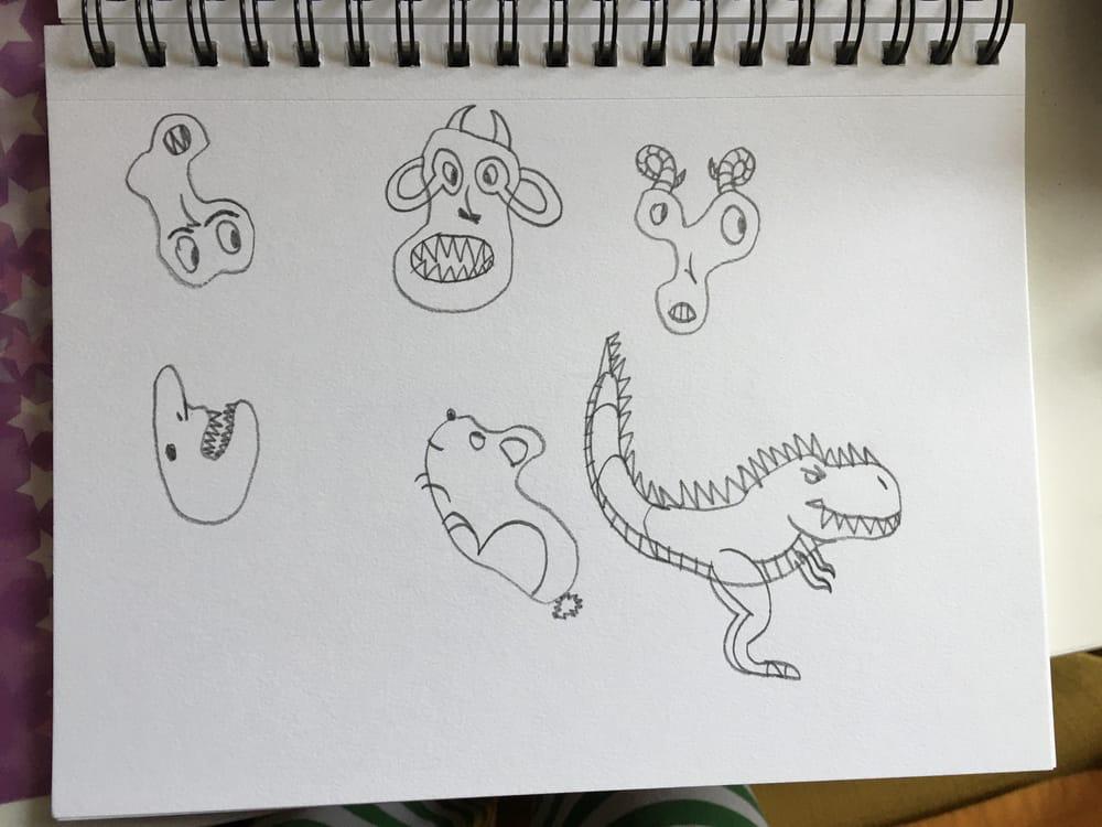 my fun (and kinda bad) drawings - image 4 - student project