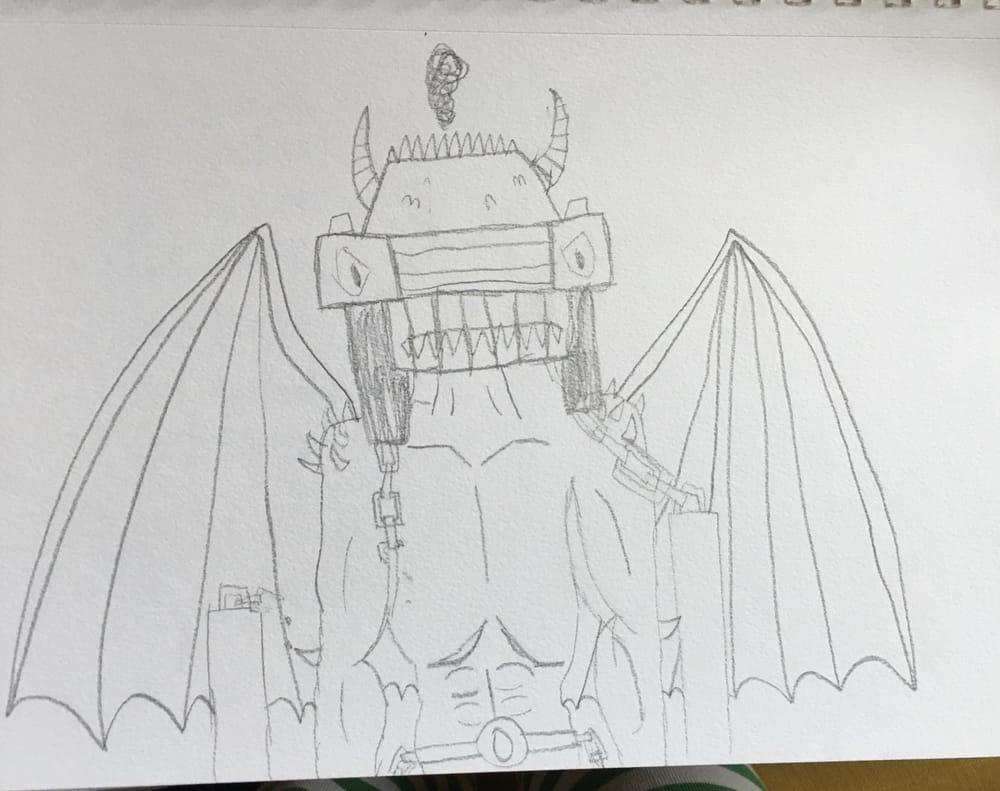 my fun (and kinda bad) drawings - image 1 - student project