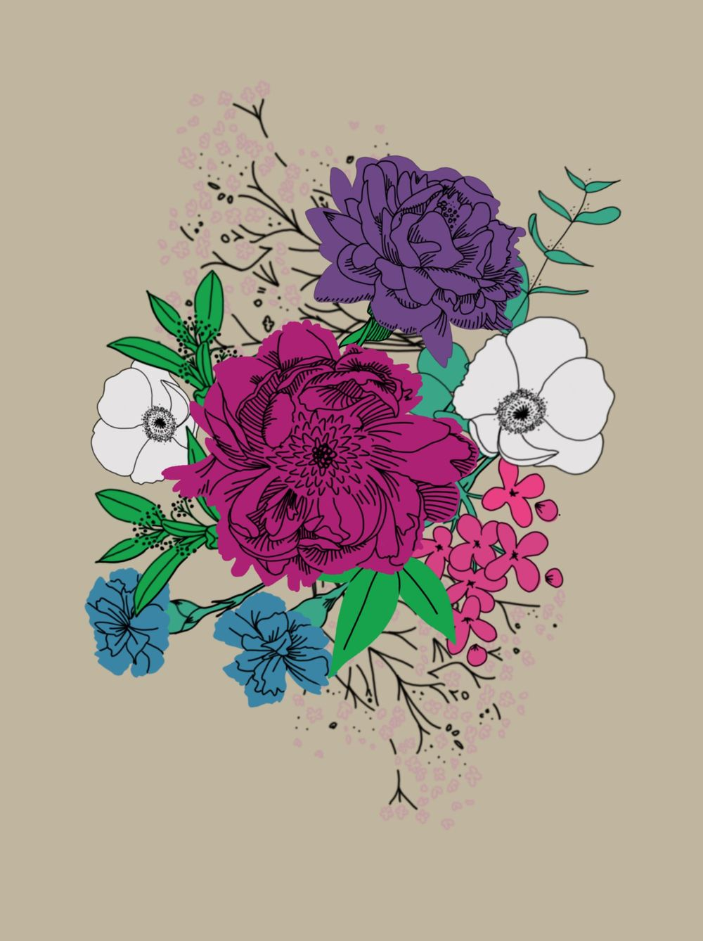 Spring Bouquet - image 3 - student project