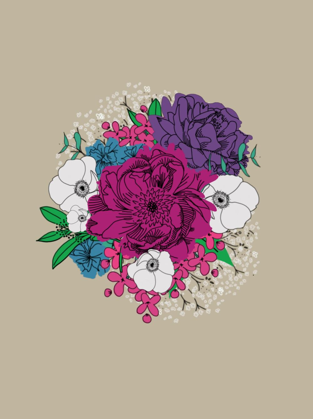 Spring Bouquet - image 4 - student project