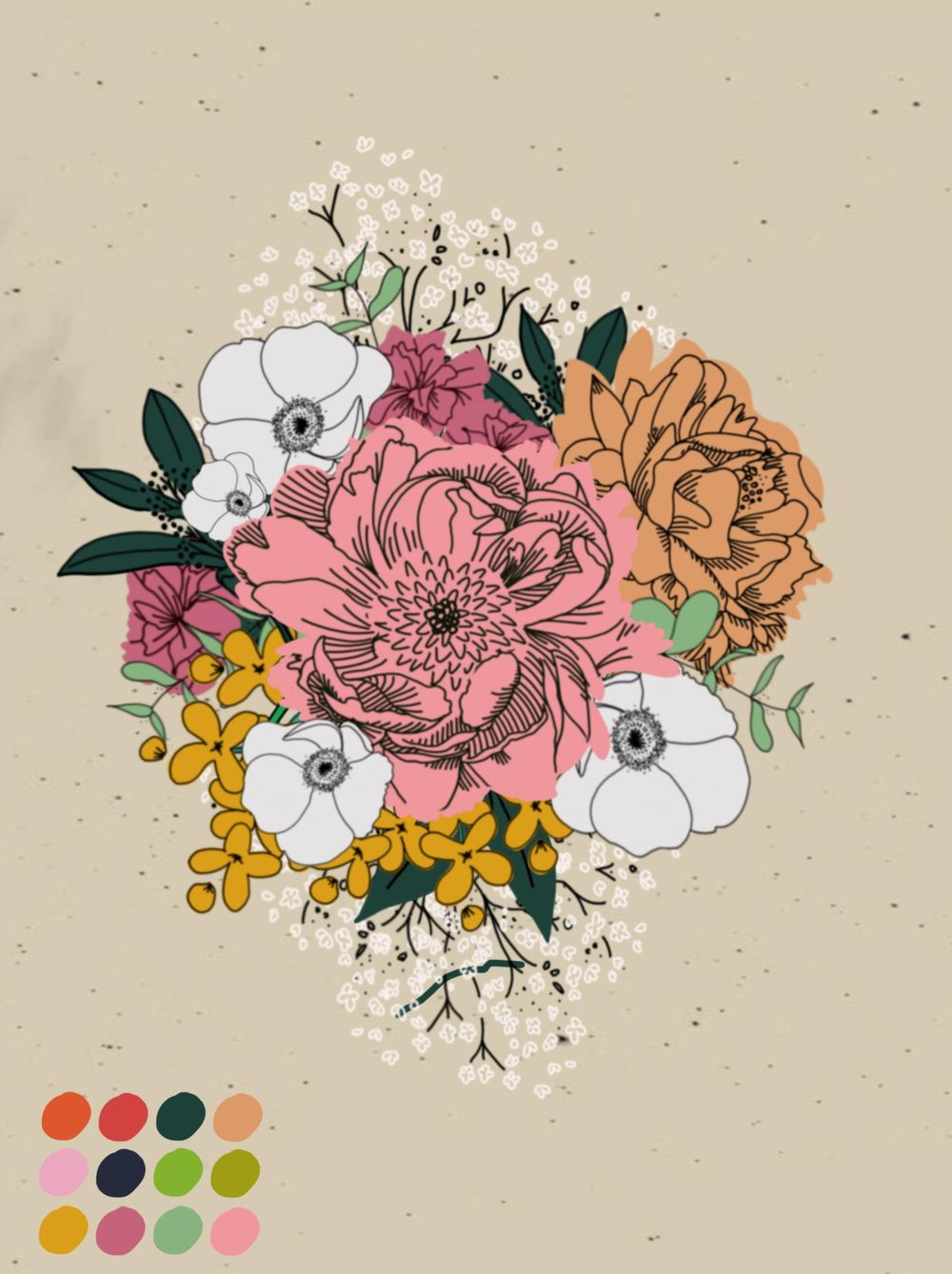 Spring Bouquet - image 6 - student project