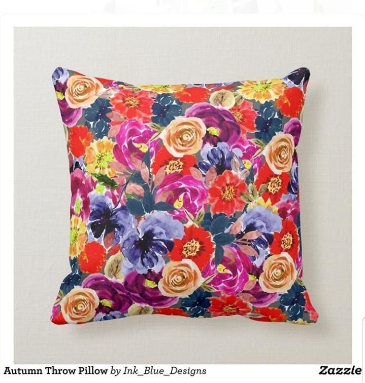Throw Pillow - Zazzle - image 1 - student project