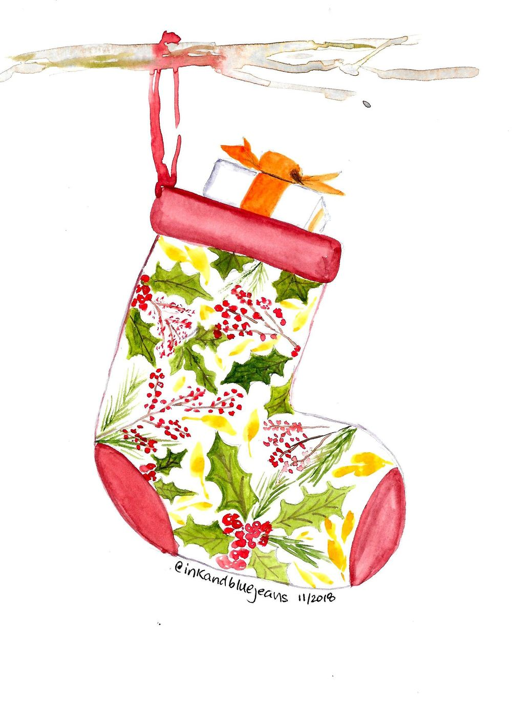Stuffed Stocking for Christmas - image 1 - student project