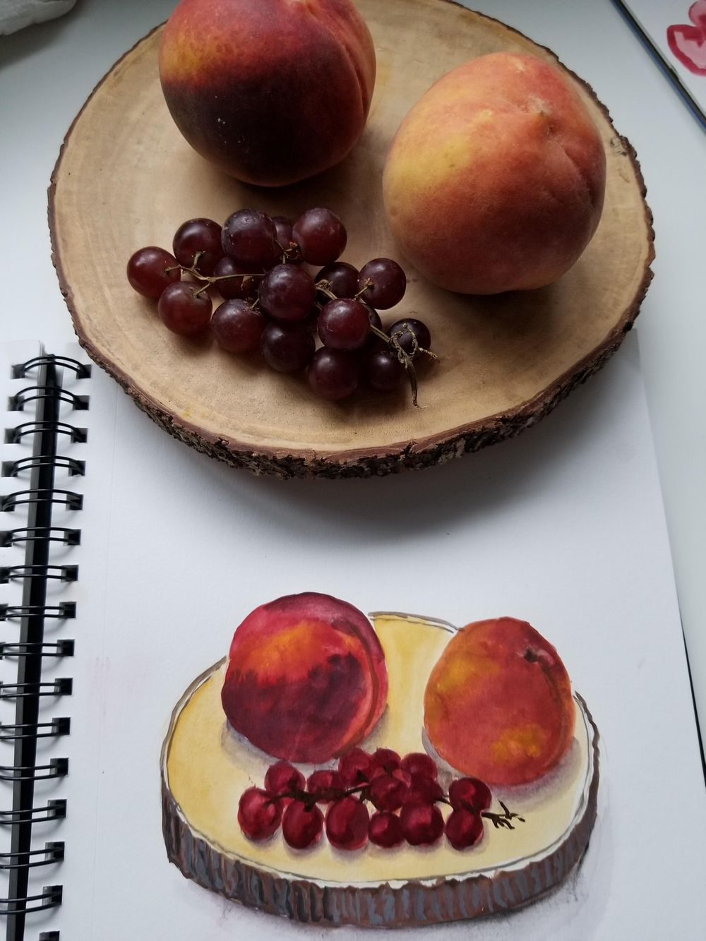 Fruits in Gouache - image 1 - student project
