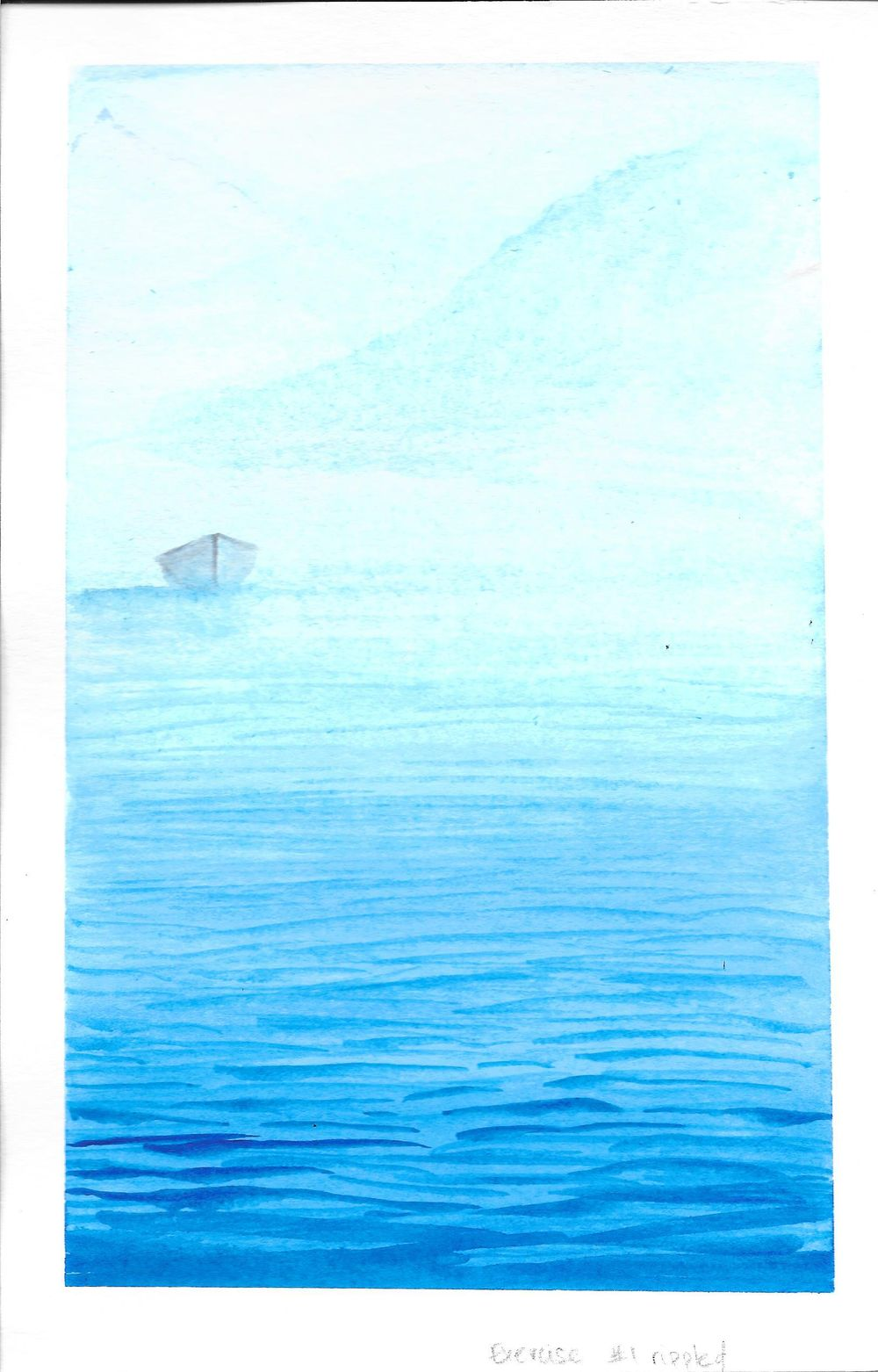Watercolor Seascape & Boats - image 5 - student project
