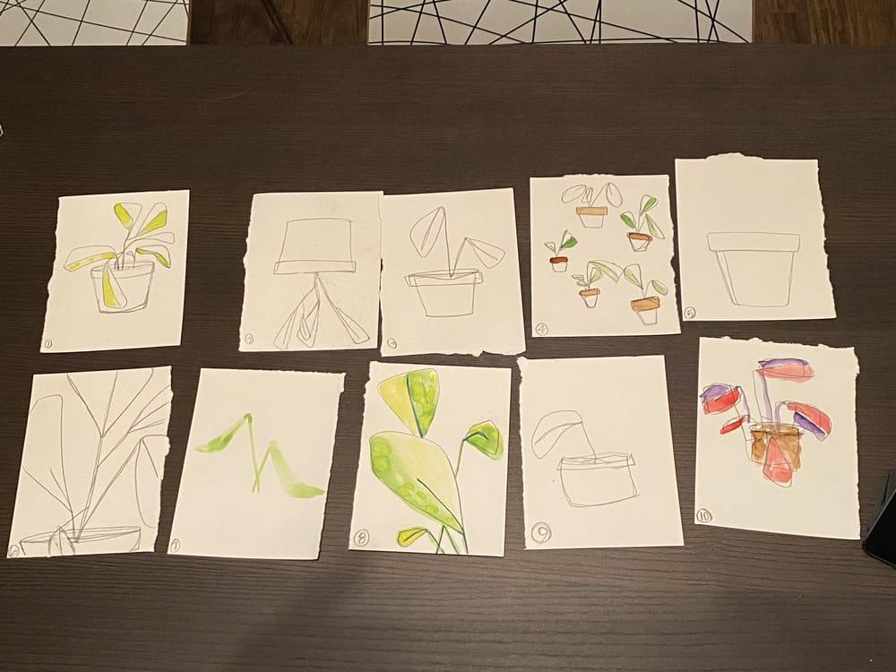 Little Plant Pots - image 1 - student project