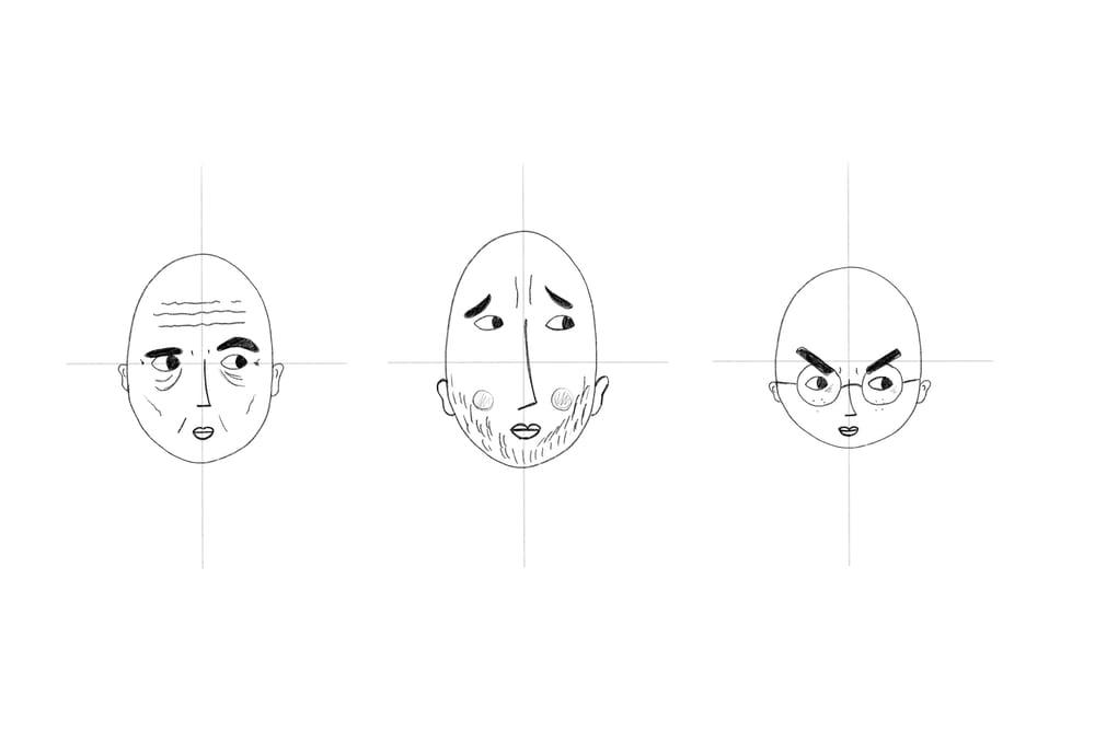 Stylized Self Portrait - image 2 - student project