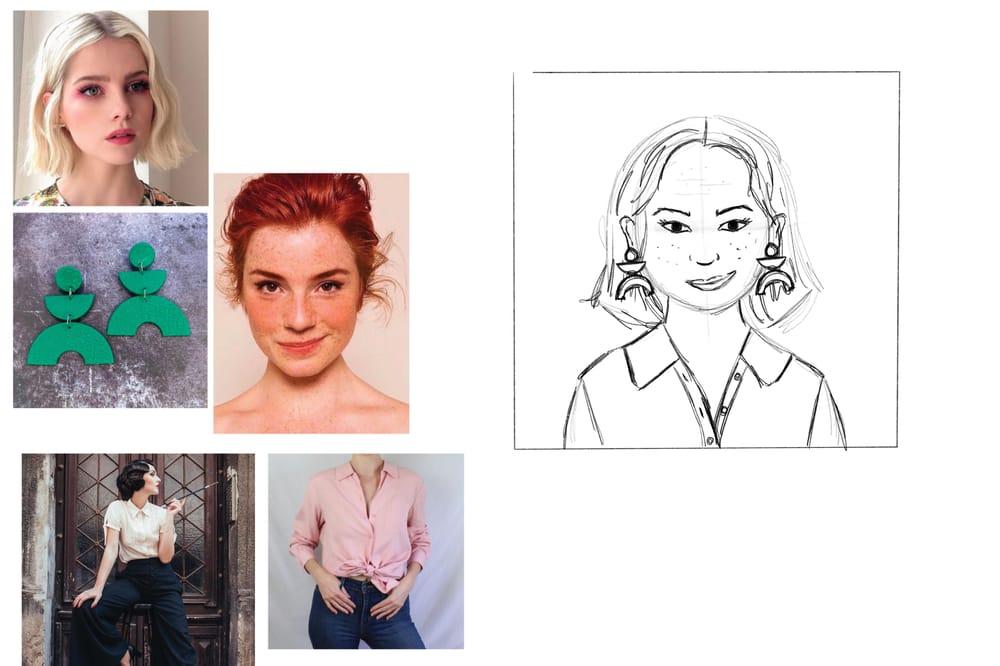 Stylized Self Portrait - image 3 - student project