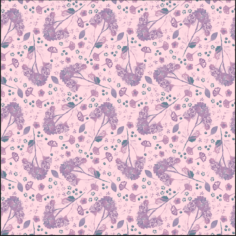 Purple Flower Bunch - image 2 - student project