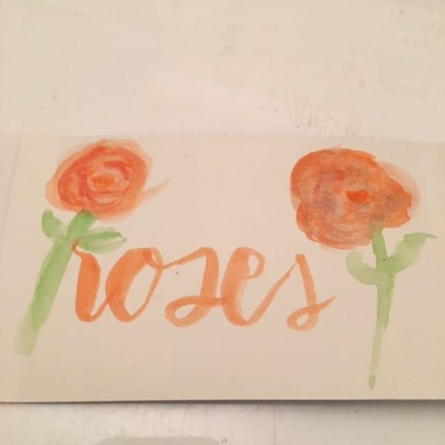 Watercolour fun - image 2 - student project
