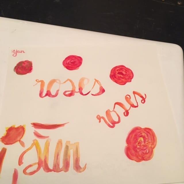 Watercolour fun - image 4 - student project