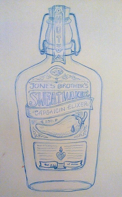 Jones Brother's SweatMaker (Hot Sauce) - image 2 - student project