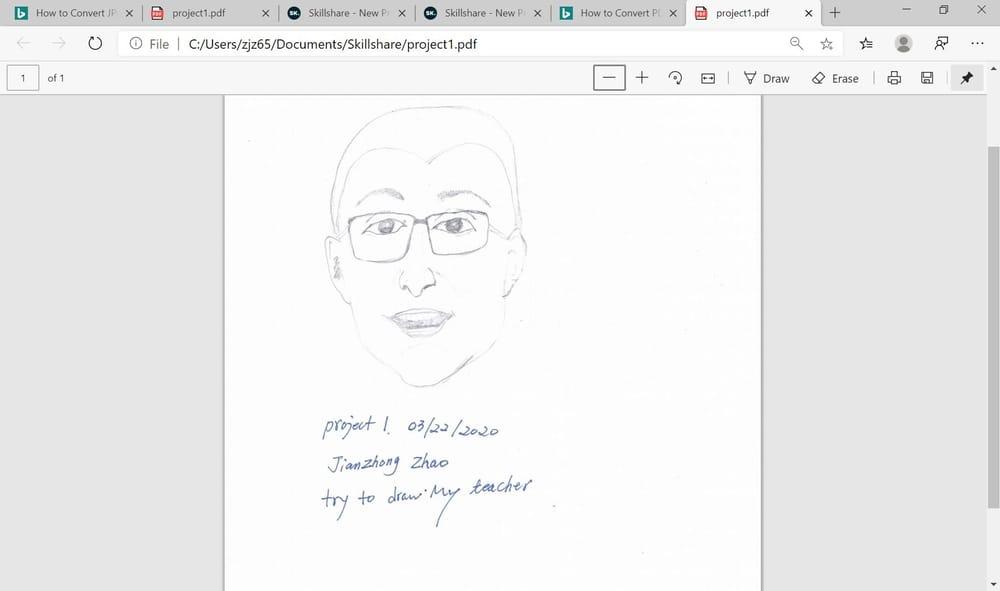 My teacher - image 1 - student project