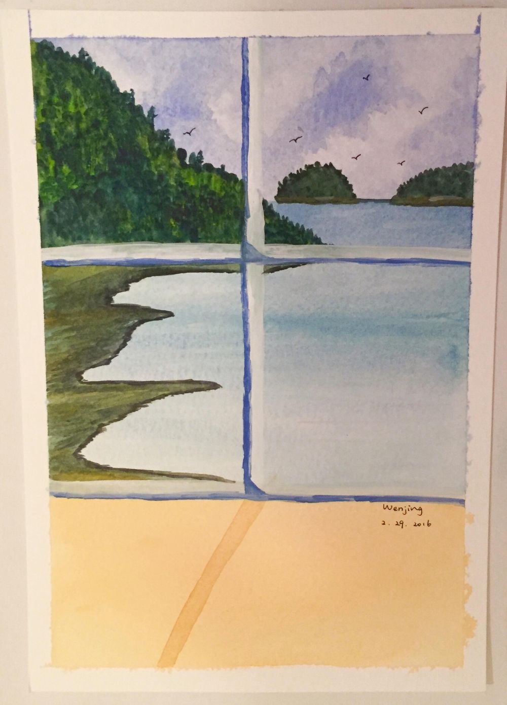 Window Scene - image 1 - student project