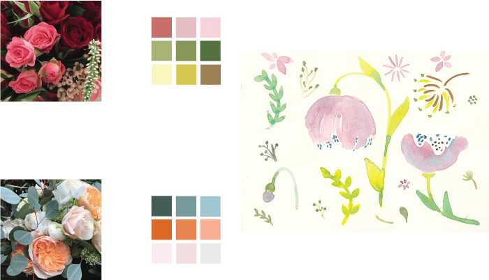 Illustrate from Photos and Paintings Workshop: 4 patterns! - image 14 - student project