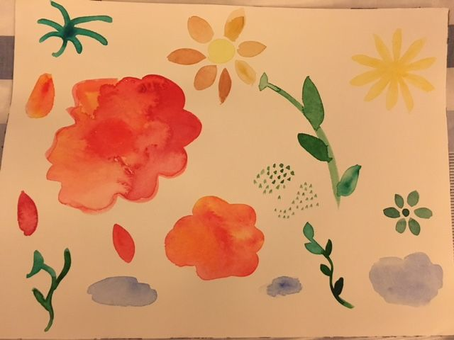 Illustrate from Photos and Paintings Workshop: 4 patterns! - image 10 - student project