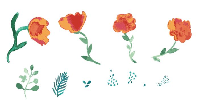 Illustrate from Photos and Paintings Workshop: 4 patterns! - image 9 - student project